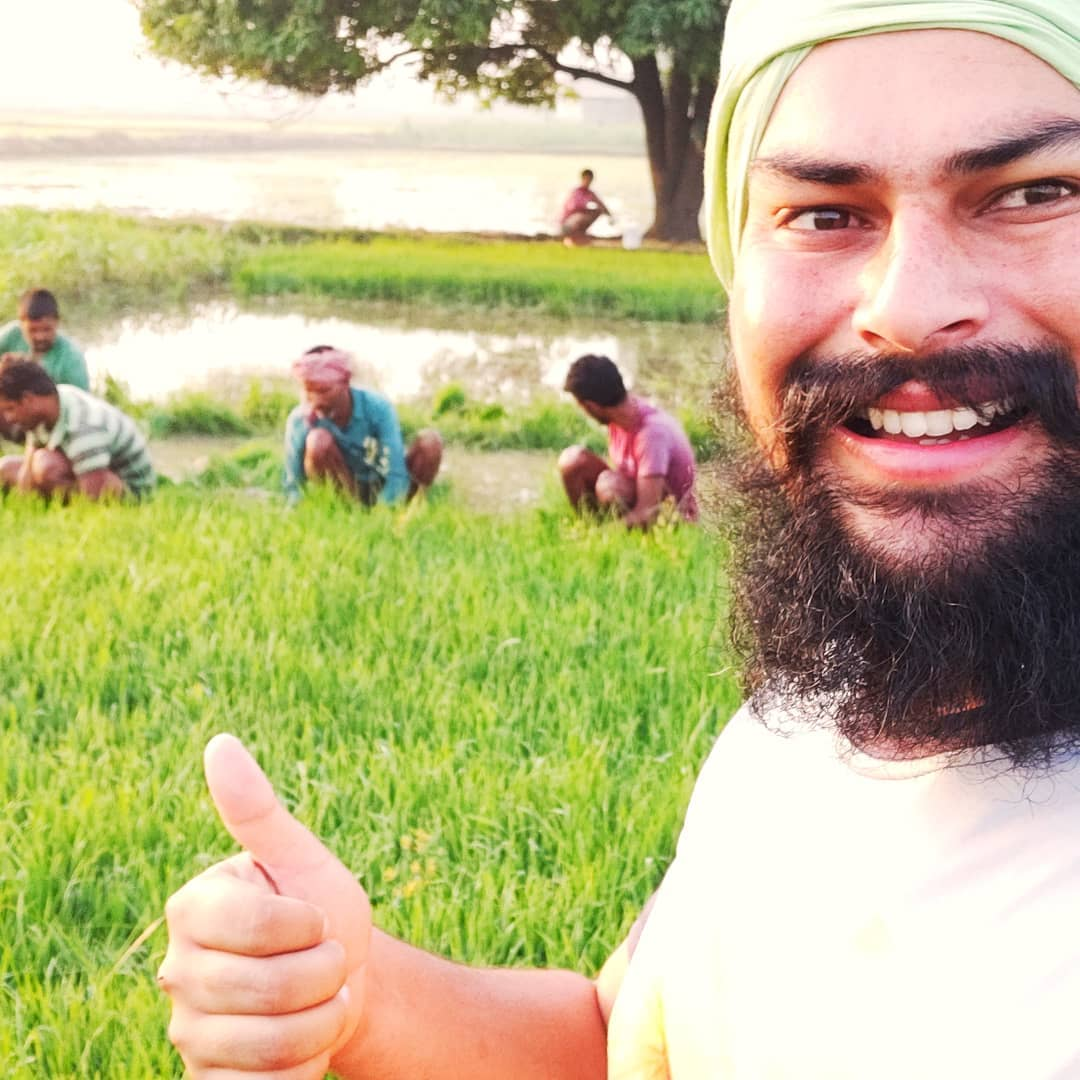 darshan singh farming leader