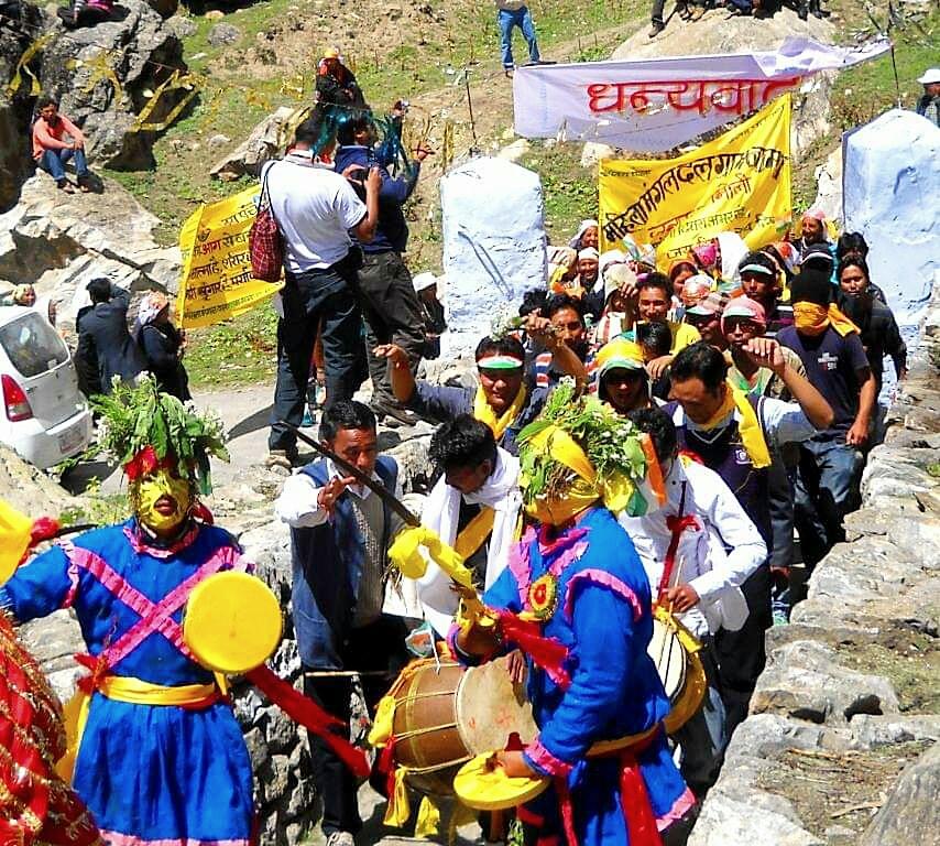 independence day celebration niti village