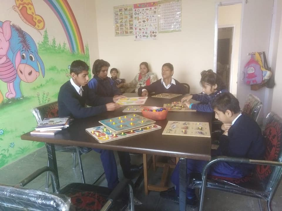 A Spacial child learning in the center-Article-Meenu Sood-Shimla-Action for Barrier Free Handicapped Integration Shimla-2