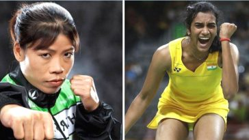 mary kom and sindhu